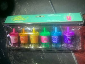 Cutie Smoothie Lip Gloss Soda Cups Package Protects & Soothes to Wind/Sun! RARE!
