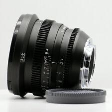 SLR Magic MicroPrime Cine 12mm T2.8 Lens for Sony-E Mount Camera