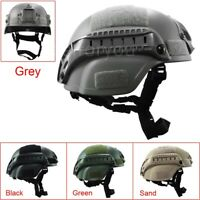 Outdoor Simplified Action Military Tactical Gear Combat Riding MICH2000 Helmet