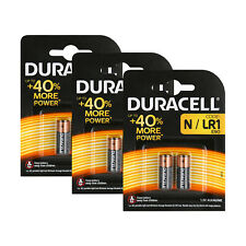 6x Duracell Batterie 1,5 V Alkaline Lady N LR1 MN9100 E90 L1129 4001, 6 Stück