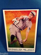 Rube Marquard, New York,  ArtCard #46 - Baseball card  of HOF player c.1910s