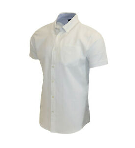 Men's 100% Thin Cotton Linen White C112 Summer Quality Holiday Casual Shirt