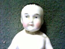 "RARE Antique Collectible Frozen Charlie/Charlotte Bisque 5"" German Doll"