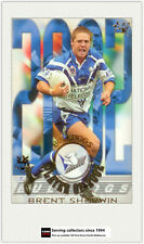 2003 Select NRL XL Cards Club Player Of year CP2 Brent Sherwin-Bulldogs