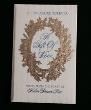 1973 A GIFT of LOVE Poems from the Heart if Helen Steiner Rice (DeLuxe Hardback)