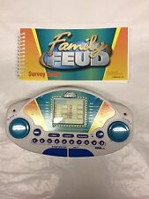 Family Feud Electronic Handheld Game Cartridge And Survey Book Tiger 1997 Vtg
