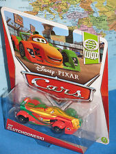 DISNEY PIXAR CARS RIP CLUTCHGONESKI #8/17 WGP ***BRAND NEW & RARE***
