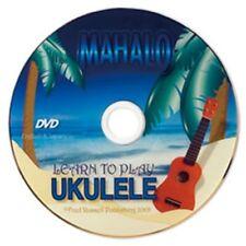 Mahalo Ukulele TUTORIAL DVD