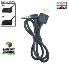 Motorcycle Intercom Accessories for V6/V4,USB Charging Cable for Motorcycle BT