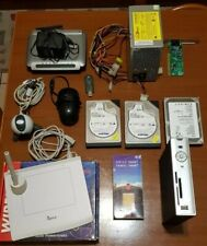 Lotto materiale informatico, modem wifi, hdd, tavoletta, media player, psu, ecc