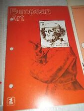EUROPEAN ART STAMP BOOK+LA COMICS OF FRANCE+1930'S sealed CELEBRATE THE CENTURY