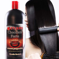 evans Brazilian Keratina Treatment CHOCOLATE Straighter hair w/ vitaminas 1 L