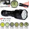 Super Bright 35000Lm 14x XM-L T6 LED 5-Mode 18650 Flashlight Torch Light Lamp