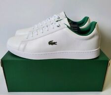 Lacoste Hydez Leather Court White Green Men's Fashion Sneaker Shoes Sz 10