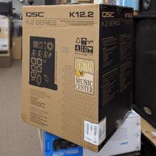 "QSC K12.2 2000 WATT  12"" 2-Way Active Powered Speaker BRAND NEW SERIES K12.2"
