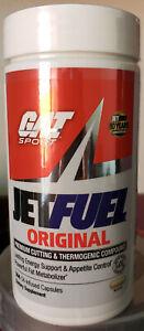 GAT JetFuel Original Fat Burner 144 Caps Jet Fuel Expedited Shipping