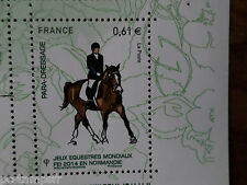 FRANCE 2014, timbre CHEVAL, HORSE, JEUX, PARA-DRESSAGE, neuf**, VF MNH STAMP