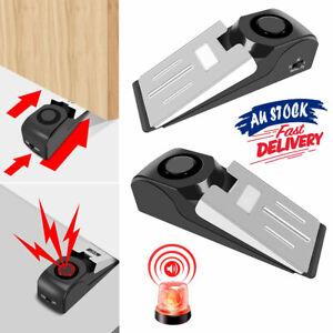 Home Security Wedge Door Stop Alert Detection Device Intruder Alarm Wireless