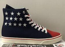 "Polo Ralph Lauren Solomon IV Hi-Top ""4th of July Edition"" Mens Size 8.5 USA Flag"