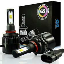 JDM ASTAR G2 8000LM 9005/HB3 LED Headlight Bulbs High Beam Xenon White Lamps 6K