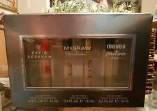 Celebrity Fragrances David Beckham Instinct 4 Pc. Gift Set 4 x 0.34oz   New