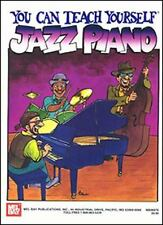 Mel Bay You Can Teach Yourself Jazz Piano-ExLibrary