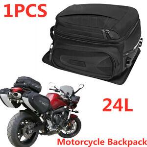 1PCS Waterproof Motorcycle Rear Seat Bag Travel Luggage Shoes Helmet Tail Case