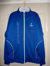 America's Cup Sailing Royal Blue L/XL Mens Full Zip Fleece Lined Jacket 2013 SF