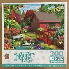 Memory Lane Jigsaw Puzzle  Over the Bridge  USED 300 pcs