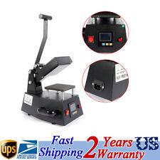 Digital Label Single Heat Press Machine Clothing LOGO Printing 0-250℃ 110V 600W