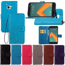 For HTC 10 /M10 Wallet Flip PU Leather w/ Card Slots Magnetic Stand Case Cover