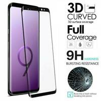 For Samsung Galaxy S10 S9 S8 Plus FULL COVER 3D Tempered Glass Screen Protector
