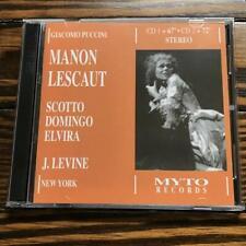 Levine / Puccini: Manon Lescaut (Myto) - Renata Scotto, Placido Domingo, Pablo..