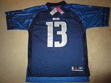 Steve Nash #13 Dallas Mavericks NBA Football Reebok Jersey LG L NEW