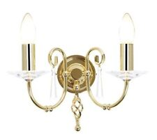 Elstead Lighting Ag2 PB Aegean Polished Brass Double Wall Light
