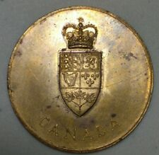 1867-1967 CONFEDERATION  CANADA BRASS TOKEN   MS0826