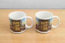 Myers's Rum Mugs Cups - Set of Two