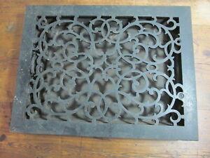 Antique cast iron floor register