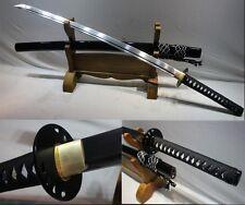 Handmade Japanese Samurai KATANA KILL BILL SWORD Manganese Steel Full Tang Blade