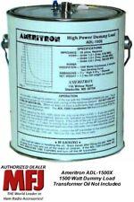 Ameritron ADL-1500X - 1500 Watt Dummy Load,  Wet. Transformer Oil Not Included