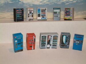 "20  Vending /Ticket Machines  10 x 2  Card Kit   Paper wrap   Card stiffener""00"""