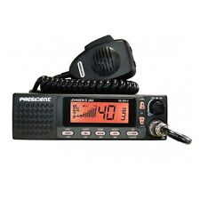 PRESIDENT JOHNSON II CB 12-24VDC SMALLER SIZE MOBILE CB RADIO - $35 Rebate