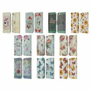HEAD CASE COUNTRY CHARM LEATHER BOOK WALLET CASE COVER FOR APPLE iPOD TOUCH MP3