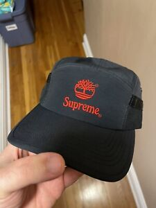 supreme timberland camp cap Ss21 In hand!