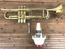 Vintage Trumpet. Resno Tempered Bell By E-Benge Los Angeles W/Mouthpiece ,case