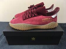 separation shoes 6d583 bcd57 Adidas Kamanda-UK 10-US 10.5 - Borgogna-Rosso-Gum-Scatola