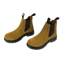 Safety Work Boots Steel Toe Elastic Footwear Mens boots Men Size 10 Shoes