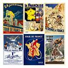 Tour de France - Set of 6 Posters - Racing - Cycling - Bicycle - Fine Art Prints