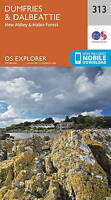 Dumfries and Dalbeattie by Ordnance Survey (Sheet map, folded book, 2015)