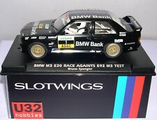 Slotwings W03802 BMW M3 E30 #1 Race Brunette E92 M3 Test Bruno Spengler MB